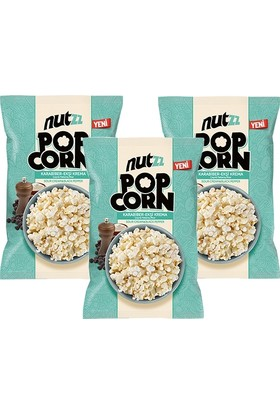 Peyman Nutzz Popcorn Karabiber & Ekşi Krema 3 Adet x 90 gr