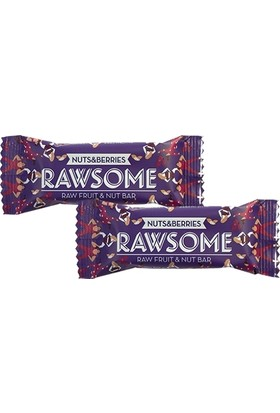 Rawsome Karışık Kuruyemişli Meyve Barı 2 Adet x 50 gr