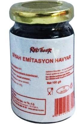 Red Tiger Siyah Emitasyon Havyar 100 gr