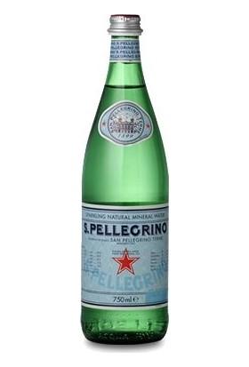 S.Pellegrino Doğal Kaynak Suyu (Pırıltılı) - x 2 Adet 750 ml