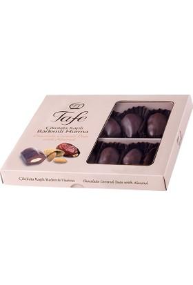 Tafe Çikolata Kaplı Bademli Hurma Hediyelik Kutu 120 gr