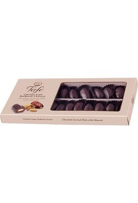Tafe Çikolata Kaplı Bademli Hurma Hediyelik Kutu 225 gr