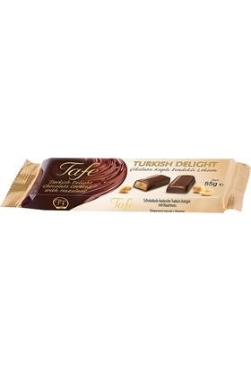 Tafe Çikolata Kaplı Fındıklı Kutu Lokum 3 Adet x 55 gr