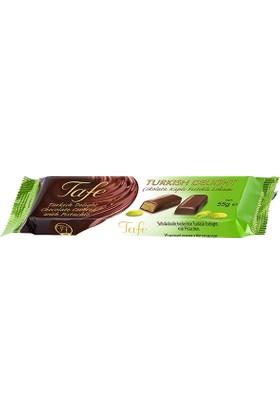 Tafe Çikolata Kaplı Fıstıklı Kutu Lokum 3 Adet x 55 gr
