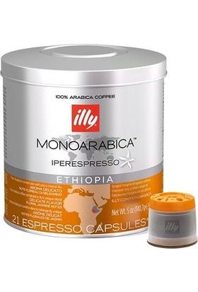 Illy İpso Etihopya Kapsül Kahve (21 Ad)