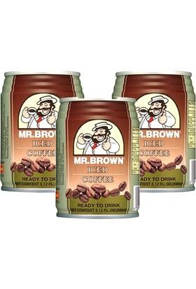 Mr.Brown İced Coffee 3 x 240Ml