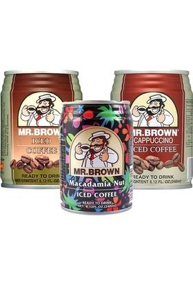 Mr.Brown Mix İced Coffee 3 x 240Ml
