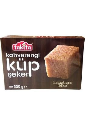 Takita Kahverengi Şeker Küp 500 gr