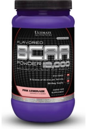 Ultimate Nutrition Bcaa Powder Pink Lemonade 457Gr