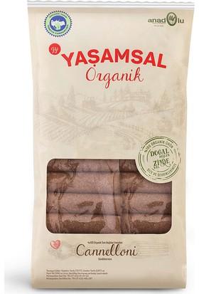 Yaşamsal Organik Cannelloni Tam Buğday Organik Makarna 400Gr