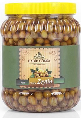Habib Günsa Halhalı Yeşil Zeytin (Yavru) 1 kg