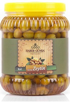 Habib Günsa Halhalı Yeşil Zeytin 1 kg
