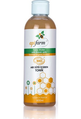 Apifarm Arı Sütlü Organik Tonik 200 ml
