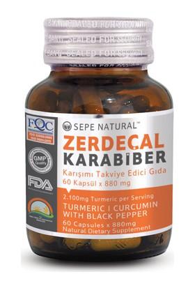 Sepe Natural Zerdeçal Karabiber 60 Kapsül x 880 mg