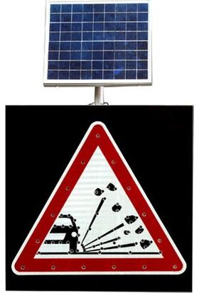 İleritrafik Güneş Enerjili Gevşek Malzemeli Zemin Levhası T9 600 x 600 x 80 mm