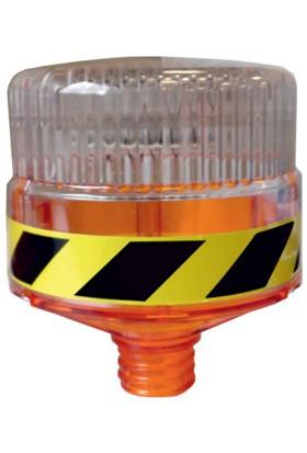 İleritrafik Solar Flaşörlü Uyarı Lambası (Sarı)