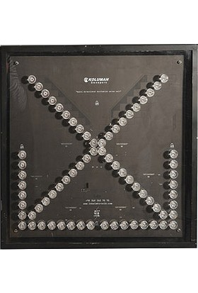İleritrafik Ok Levhası Kamyon Arkası 60x60cm