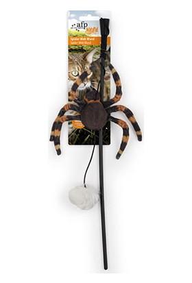 Spider Web Wand - Peluş Örümcek Olta 2058