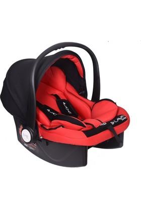 Lava Baby Pedli Ana Kucağı Taşıma Koltuğu Siyah - Kırmızı