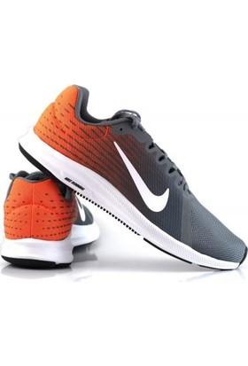 908984 Nike Orjinal Downshifter Erkek Spor Ayakkabı Gri Turuncu