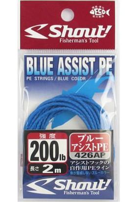 Shout Blue Assist PE Line Assist İpi