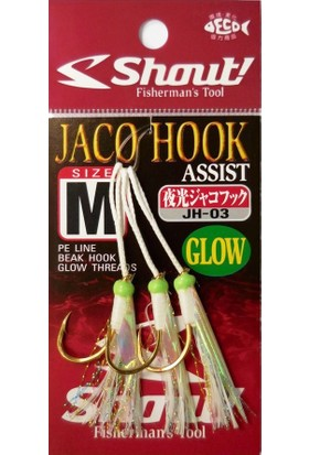 Shout Jaco Hook Glow Assist Olta İğnesi