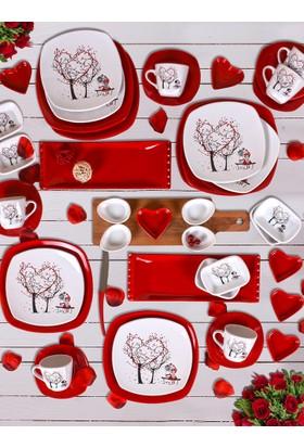 Keramika 43 Parça 6 Kişilik Kahvaltı Takımı Dream Of Keramira