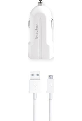 Soultech 1000 mAh Micro Kablolu USB Araç Şarjı (SC304B)