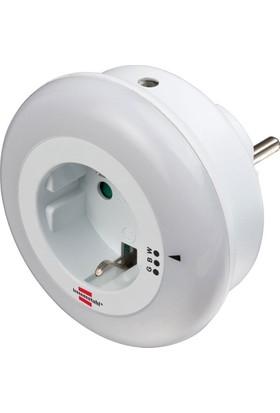 Brennenstuhl Priz Özellikli Sensörlü 3 Renk 6 Lm Gece Lambası
