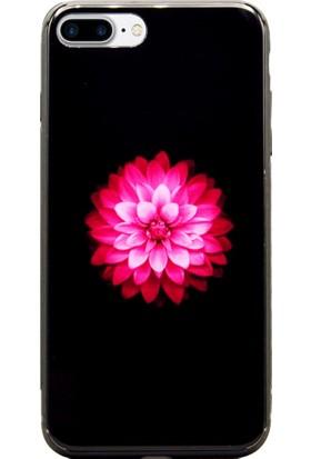 AntDesign iPhone 7 Plus / 8 Plus Cam Baskı Desenli Kılıf Flower
