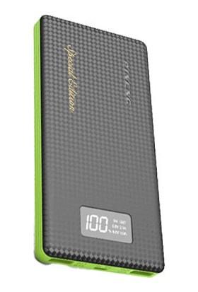Pineng PN963 Dijital Ekranlı 10000 mAh Powerbank Yeşil