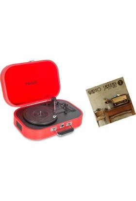 Mikado MN 101 Pikap(Renk: Kırmızı)+Radyo Şarkıları 1 Plağı