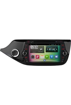 Mixtech Kia Ceed Android Navigasyon ve Multimedya Sistemi 8 İnç Double Teyp