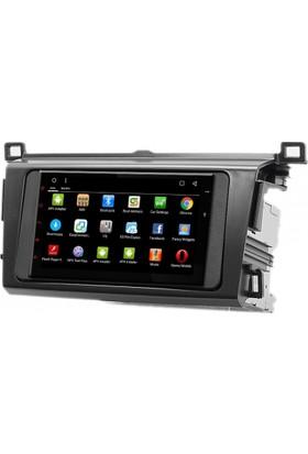 Mixtech RAV-4 Android Navigasyon ve Multimedya Sistemi 7 İnç Double Teyp