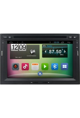 Mixtech Partner 3008 Android Navigasyon ve Multimedya Sistemi 7 İnç Double Teyp