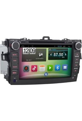 Mixtech Corolla Android Navigasyon ve Multimedya Sistemi 8 İnç Double Teyp