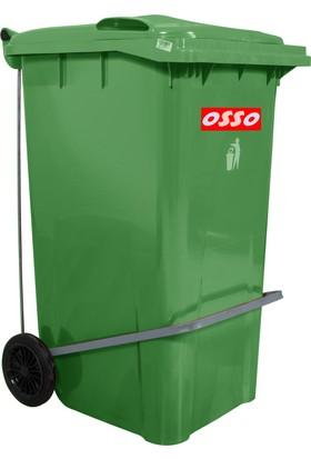 Osso Ç240 Litre Pedallı Çöp Konteyneri