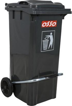 Osso Ç100 Litre Pedallı Çöp Konteyneri