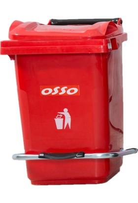 Osso Ç60 Litre Pedallı Çöp Kovası