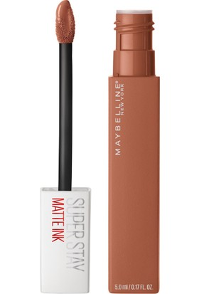 Maybelline New York Super Stay Matte Ink Likit Ruj Unnude - 75 Fighter