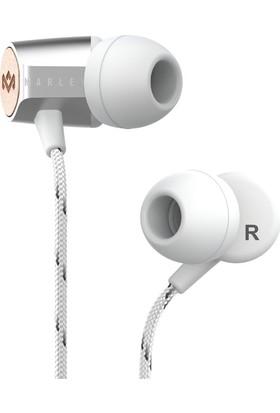Marley Uplift 2.0 Gümüş Mikrofonlu Kulak İçi Kulaklık