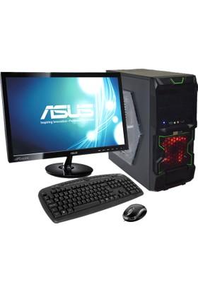 """Citybilişim CTYHB021 AMD A4 5300 8GB 320GB GT730 Freedos 19"""" Masaüstü Bilgisayar"""