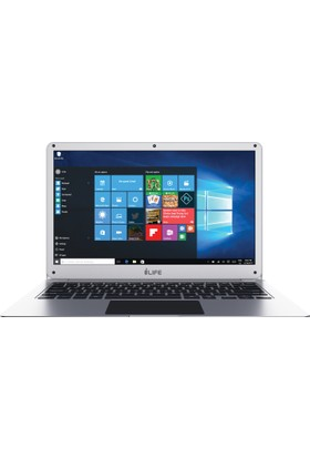 "I-Life Zed Air Intel Atom x5 Z8350 2GB 32GB eMMC Windows 10 Home 14.1"" FHD Taşınabilir Bilgisayar IL-1406-232-BCTES"