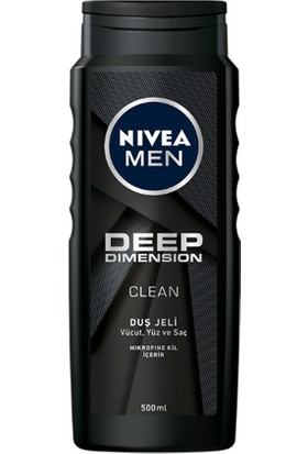 Nivea Men Deep Dımensıon Duş Jeli 500Ml