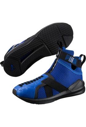 Puma Fierce Strap Mavi Siyah Kadın Sneaker