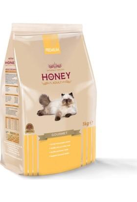 Honey Gurme Renkli Taneli Yetişkin Kedi Maması 1 Kg