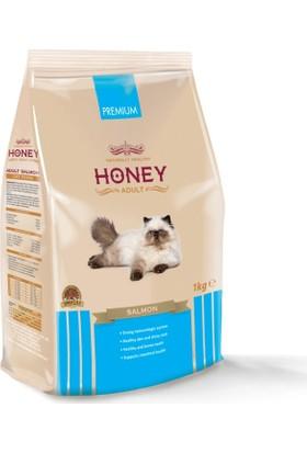 Honey Somonlu Yetişkin Kedi Maması 1 Kg