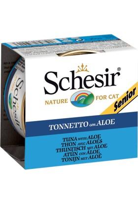 Schesir Ton Balıklı ve Aloeveralı Yaşlı Kedi Konservesi 85 gr