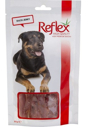 Reflex Duck Jerky Ördek Fileto Doğal Köpek Ödülü 80 gr