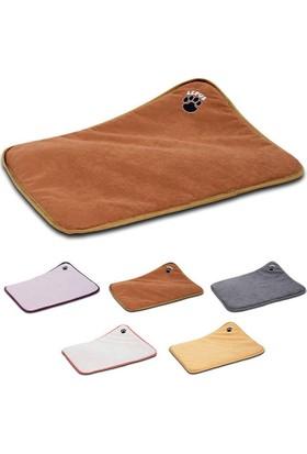 Soft Plus Mikrofiber Süet Kumaş Minder Köpek Yatağı Medium 70x108 cm